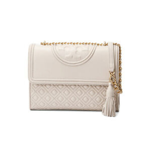 53cbcd631df1 Image is loading TORY-BURCH-Fleming-Small-Convertible-Shoulder-Bag -Crossbody-