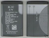 Lot Of 3 Battery For Nokia Bl5c 1616 X2-01 5130 E50,e60,n70,n71 2700 6682