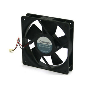 Sunon-KD1212PTB2-6A-120mm-x-25mm-DC-12V-Vapo-Bearing-Cooling-Fan-3-pin