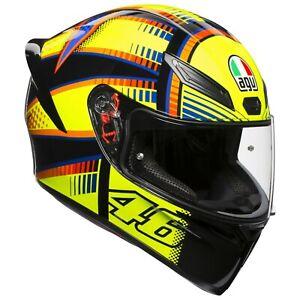 Matte Black//Orange AGV K1 WARMUP Sport Helmet Choose Size