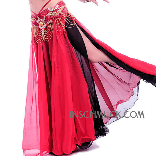 C215 Belly Dancing Costume Skirt in 2 color two-sided wear