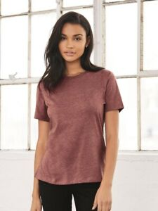 Bella-Canvas-Women-039-s-Relaxed-Short-Sleeve-Jersey-Tee-6400