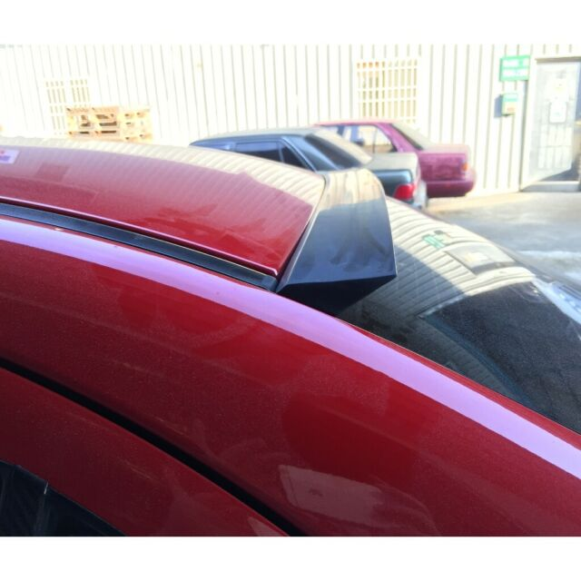 Flat Black 148 NRS Rear Roof Lip Spoiler Wing For 2009