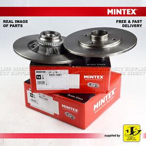 2X-Mintex-Trasero-Frenos-de-Disco-MDC1997-RENAULT-CLIO-MK-II-Megane-1-4-1-6-1-8-1-9-2-0