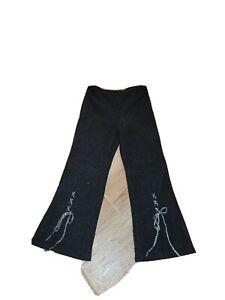 Amy Byer Girls' Pull-On Black Pants Sz 5
