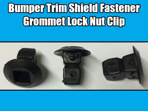 10x Clips For Audi Grommet Expanding Lock Nuts Bumper Trim Shields Fastener Clip