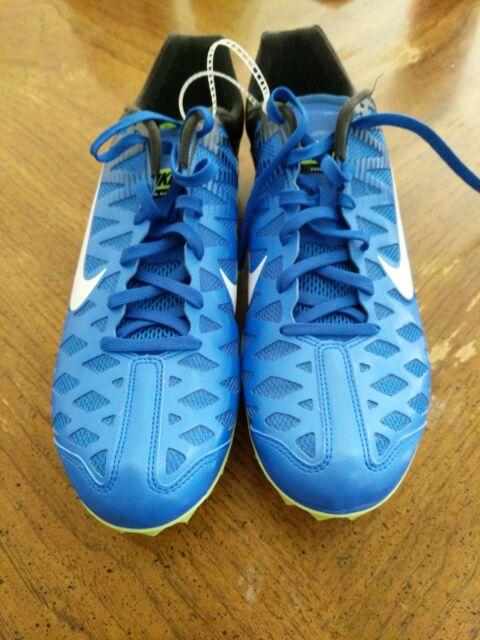 f1d5da4b6bcc Nike Zoom Maxcat 4 Sprint Track Field Spikes Blue 549150-413 Size 12 ...