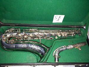 Schones-Alt-Saxophon-Huller-D-R-G-M-No-60604-Modell-1928-SX1