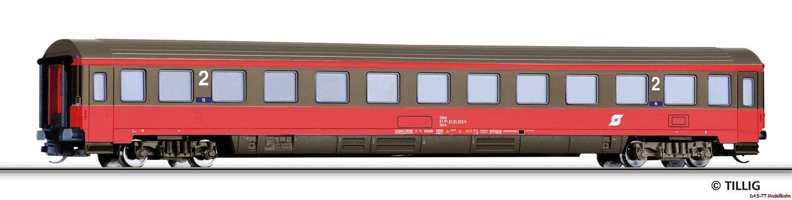 TT viaggiatori 2. KL. BMZ ÖBB Eurofima II ep. V Tillig 16539 NUOVO