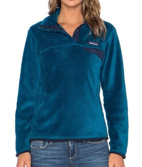 cbe3e394 Patagonia Women's Re-tool Snap-t Fleece Pullover Underwater Blue