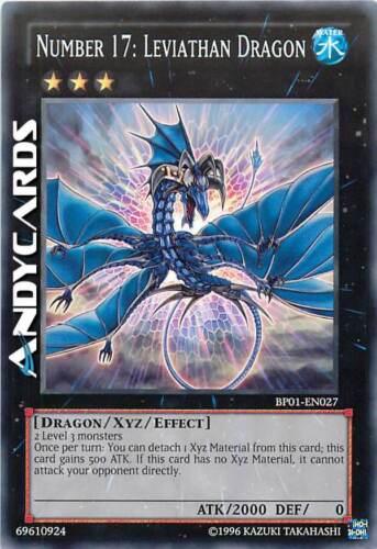 Numero Drago Leviatano ☻ Rara Bianca BP01 EN027 ENG Number 17 Leviathan Dragon