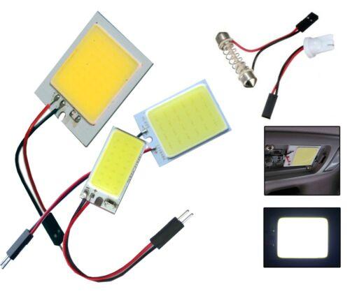 PANNELLO LED COB CHIP LUCE CORTESIA INTERNO AUTO ADATTATORE T10 24 LED