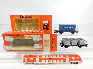 CC279-0-5-2x-Rivarossi-H0-DC-Gueterwagen-2079-Danzas-2406-Haus-DB-OVP