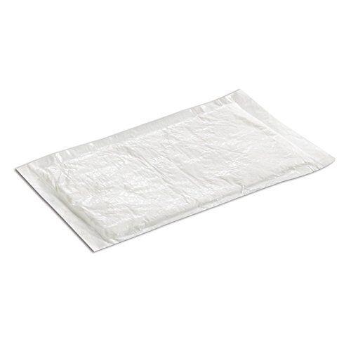 CASE OF 100 4x7-Inch White Ultra Dri-Lock 50 Grams Meat Pads SafePro UZ50