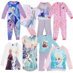 Official-Disney-Frozen-Elsa-Anna-Olaf-Childrens-Pyjama-Sets-amp-Long-Sleeved-Tops