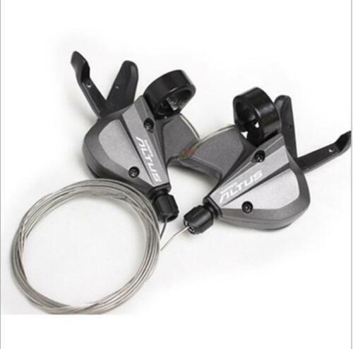 Fahrrad Schalthebel Set Shimano Altus M370 für 3 x 9-fach 27 Gang Schaltung JD