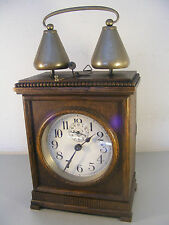 Rare MAUTHE FMS Holzwecker with Bells Glocken um 1900