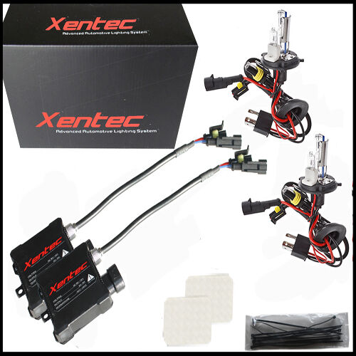 Xentec HID KIT SLIM Xenon 9003 H4 Hi-Lo 10000K Deep Blue Beam Conversion Light