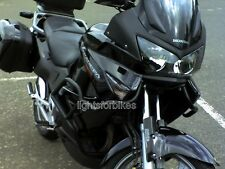 Schwarze Front Blinker Honda Varadero XL 1000 V XL1000 SD02 smoked signals
