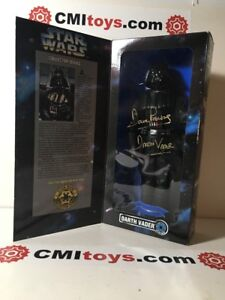 STAR-WARS-DARTH-VADER-Action-Figure-POTF-autographed-signed-DAVE-PROWSE-1995-COA