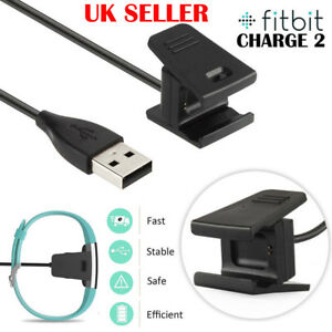 Details about UK USB Cable Charger Lead Charging for Fitbit CHARGE 2  Fitness Tracker Wristband