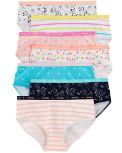 1c916067bd57 NWT OshKosh Sz 4 5 6 6X 8 10 12 Underwear 7 Pack Girls Panties Stars ...