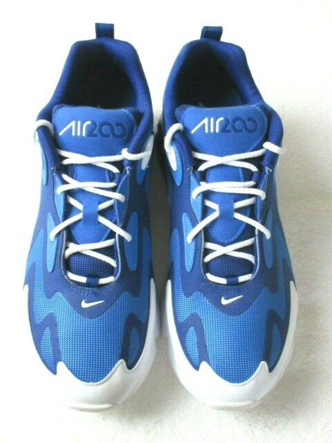 Nike Mens Air Max 200 Running Training Shoes Pacific Blue White Size 12 NEW