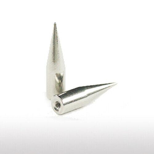 1,6mm Titan PIERCING Aufsatz lange Spitze C09 Spike Augenbrauen Lippe Ohr Cone