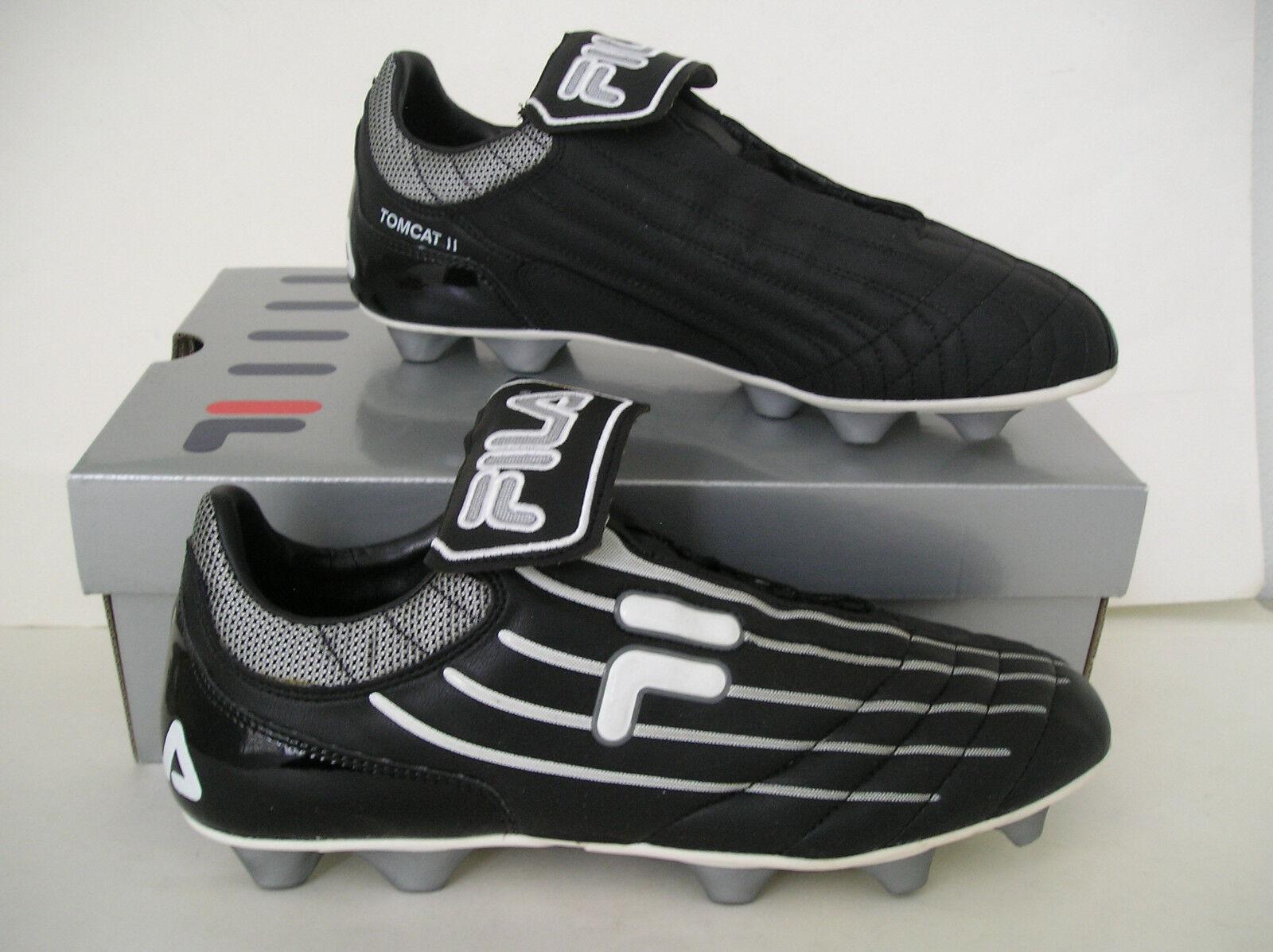 RARE~nib~Fila TOMCAT PLUS TX ITALIAN Soccer-Football Boot Cleats Shoes~Mens sz 8
