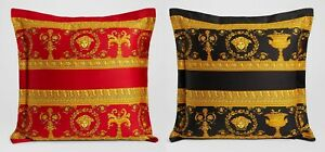 VERSACE MEDUSA PILLOW with INSERT REVERSIBLE 2 sides NEW IN BAG  ORIGINAL SALE