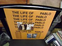 Kanye West Life of Pablo 2x LP NEW GREEN Haze Splatter Colored vinyl