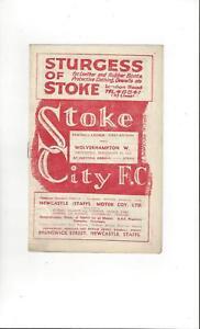 Stoke-City-v-Wolves-Football-Programme-1948-49