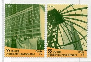 19438-UNITED-NATIONS-Vienna-2000-MNH-UNO-55th-Ann