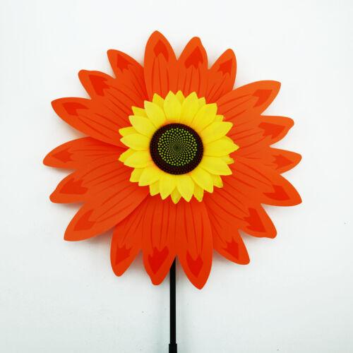 Windmill Plastic Kids Party Fun Children Toys Garden Sunflower Multi-C Pinwheels