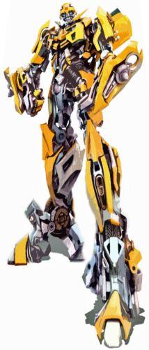"Bumblebee Transformer enorme 7 PIEDI ALTI POSTER Retrò Art su tela 36/""x 84/"" pollici"