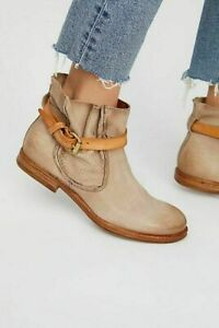 really cheap latest discount big discount Details about A.S.98 Free People Imperial Distressed Ankle Boots Booties  Brown EU 39 US 8.5 9