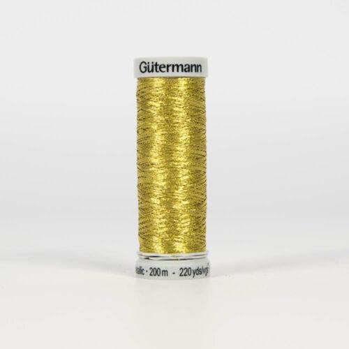 Gütermann Nähgarn Metallic-Effektfaden 200 m gold Col.7004