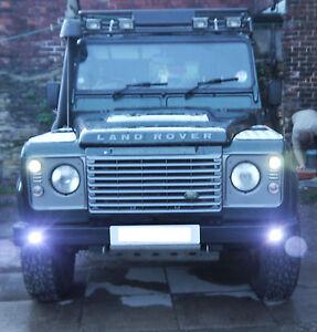 LED Land Rover Defender daytime running lights & side lights set of