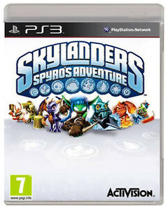 SKYLANDERS-SPYRO-039-S-ADVENTURE-GAME-ONLY-PS3-NEW-UK-STOCK-SONY-PLAYSTATION