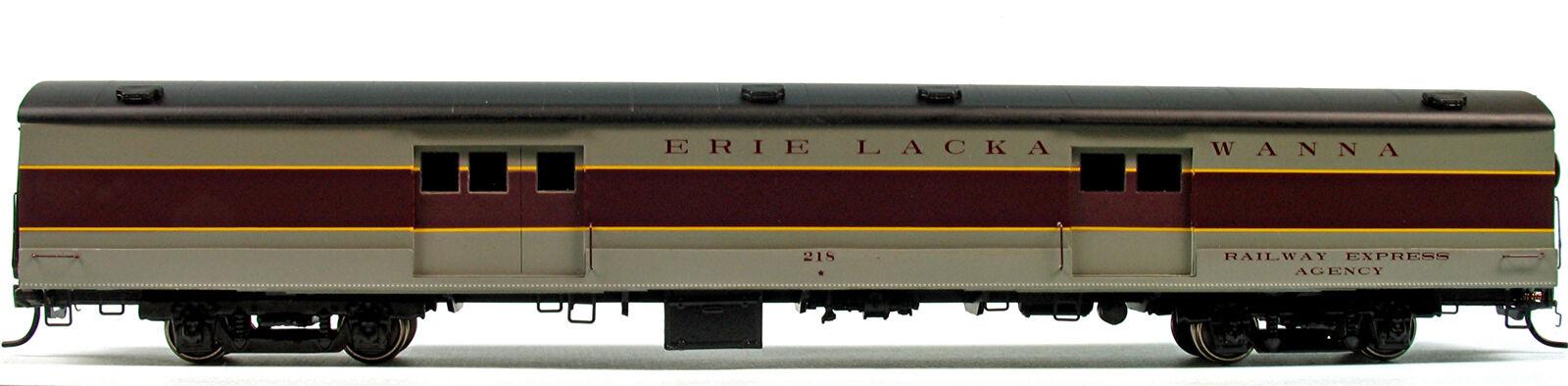 Erie Lackawanna equipaje Express Coche HO Modelo Del FerroCocheril unptd Kit BC832