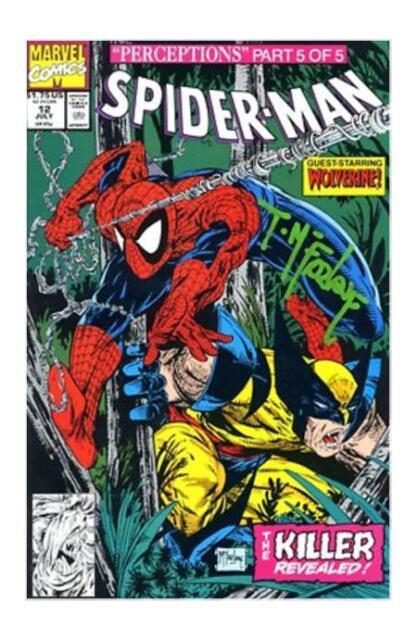 Jul 1991, Marvel Spider-Man #12 Perceptions Part 5 Todd McFarlane VF//NM