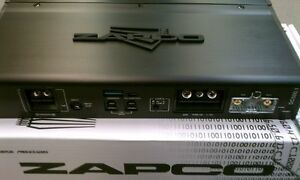 new zapco dc reference dc500 1 1 channel built in dsp 500 rms watts car amp ebay. Black Bedroom Furniture Sets. Home Design Ideas