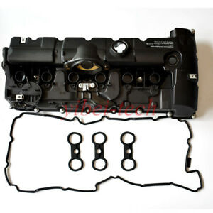 Details about Engine Valve Cover With Gasket Kit 11127552281 For BMW 128i  328i 528i X3 X5 Z4