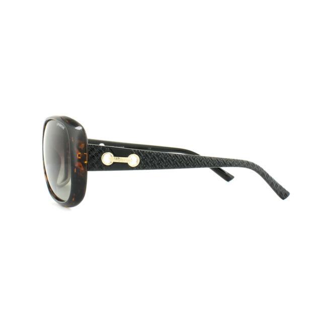 Polaroid Sunglasses P8430 581 LA Havana Black Brown Gradient Polarized