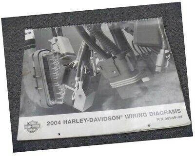 2004 Harley Davidson Police Motorcycle Electrical Wiring ...