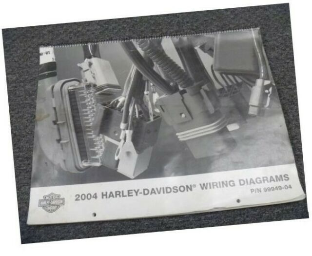 2004 Harley Davidson Police Motorcycle Electrical Wiring Diagrams Manual