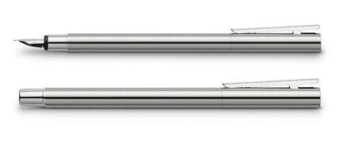 Faber Castell Füller NEO Slim Edelstahl glänzend
