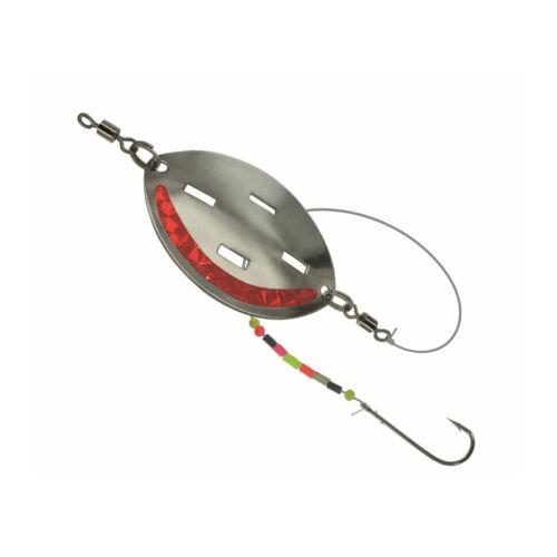 Dega buttlöffel monté 25 G rouge taille 1 locklöffel avec vorfach