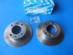 Disques-de-freins-arriere-BRECO-pour-Citroen-BX-11-15-14-16-19-1-8-1-9