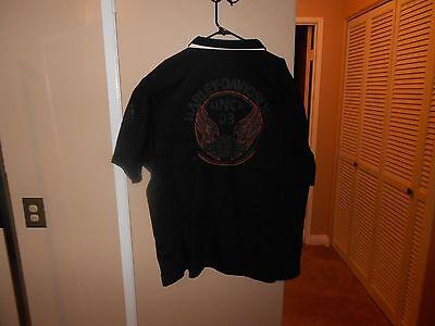 Harley-Davidson Mens Speed /& Power Winged Trademark B/&S Black S//S Shirt XXXL NWT
